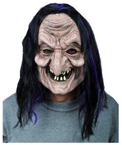Sunman Cadı Et Maske,Şaçlı