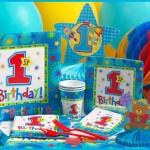 1 Yaş Erkek Çocuk Doğum Günü Parti Temaları