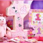 1 Yaş Kız Çocuk Doğum Günü Parti Temaları