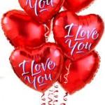 Kalp Folyo Balonlar