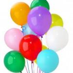 Düz Renk Balonlar