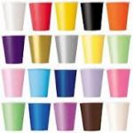 Düz Renk Bardaklar