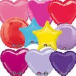 Düz Renk Folyo Balonlar