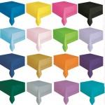 Düz Renk Masa Örtüleri