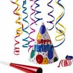 *Erkek Doğum Günü Parti Aksesuar ve Süsleri