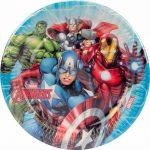 Mighty Avengers Kağıt Tabak 8li