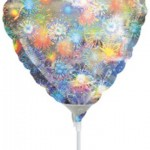 12.5cm Anagram mini folyo balon