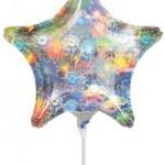 12.5cm Anagram mini folyo balon. Hava ile şişirilir. Dekor amaçlıdır.