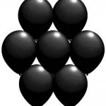 30cm kauçuk balon. Helyum ile şişirilerek uçan balon yapmaya uygun
