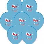 30cm çapında kauçuk balon. Ekranın renkleri farklı yansıtmasıyla sebebiyle ürün renklerinde sapmalar olabilir.