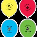 1 pakette 25 adet lateks (kauçuk) karışık renklerde balon yer alır. Paketlenmiş balonların rengi şişirilince açılır. Standart boydur. Helyum ile şişirilerek uçan balon yapılmaya elverişlidir. Balonlarınızı PartiPaketi mağazalarında şişirtebilirsiniz.