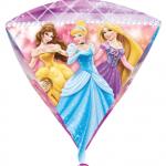 """15""""/38cm w x 17""""/43cm h ebatında folyo balon. Şişirilmeden teslim edilir."""