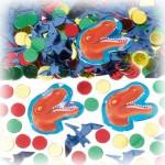 Dinozor kesimli masa süsü konfeti