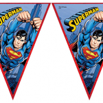 Superman temalı doğum günü partilerinizde mekanı dekore etmek için kullanabileceğiniz bu parti malzemesi ile parti temanızı tamamlayın. Superman parti temasının sofra setleri