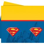 Superman teması parti ürünlerini tamamlayıcı