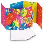 8.5x14.5cm kart/zarf