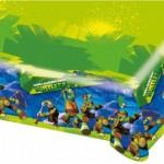 Parti temanınız ile uyumlu 1.2m x 1.8m ebatında plastik desenli örtü.