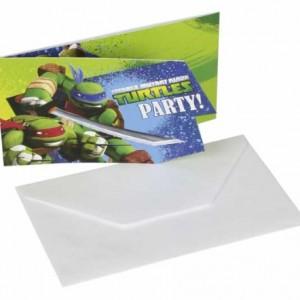 Ninja Kaplumbağalar Davetiyesi