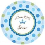 Baby Shower partileri için 26.6 cm kullan at kağıt parti tabağı. Parti sofralarının vazgeçilmez parti ürünüdür. Bu setin parti temasına ait küçük boy pasta tabakları ile birlikte kombinleyebilirsiniz.
