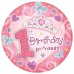 1 yaş partileri için 23cm şekilli kullan at kağıt parti tabağı. Doğum günü partilerinizde parti sofralarının vazgeçilmez parti ürünüdür. Diğer temalı parti malzemeleri ile kombinleyebilirsiniz.