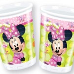 Minnie Mouse Doğum günü sofraları için parti malzemesi: