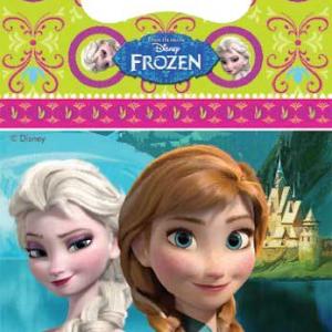 Frozen Parti temanıza uygun plastik parti hediye poşeti 16x24cm ebatlarındadır. Minik misafirleriniz için parti hediyelikleri