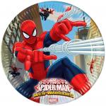 Doğum günü partileri için parti sofralarının vazgeçilmezi temalı kağıt tabak. Parti temanızı Spiderman serisinin diğer ürünleriyle tamamlayınız. Marvel lisanslı ürünüdür.