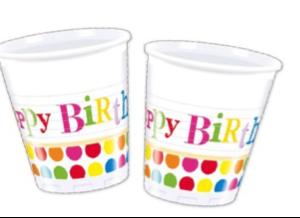 Doğum günü sofraları için parti malzemesi: