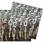 33x33cm kağıt peçete. Star Wars Doğum günü partilerinde temalı parti sofralarınızı tamamlar