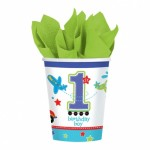 1 yaş doğum günü sofraları için parti malzemesi: