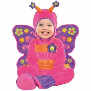 Kelebek Kanatlı 1 yaş bebek kostümü