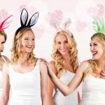Renkli peluş tavşan taçları. Stok durumuna göre resimde görülen farklı renklerde yollanabilir. Renk tercihiniz varsa depo@partipaketi.com adresine sipariş numaranızı belirterek mail atınız.