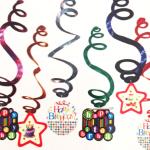 Doğum günü ve parti süslemesi için ideal