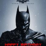 Batman temalı doğum günü partilerinizde duvarda veya kapıda kullanabileceğiniz 50x70cm ebatında