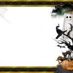 cadılar bayramına özel fotoğraf çektirme çerçevesi
