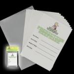 Baby Shower partileri için eğlenceli bir parti oyunu.Set 12 kart ve metalik bir saklama zarfından oluşur. Misafirler kendi isimlerini