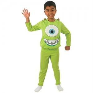 Cadılar bayramı kostümlü partiler için medium beden kostüm.Paket İçeriği: Monster Mike Kabartma desenli tişört ve Pantolon yer almaktadır.