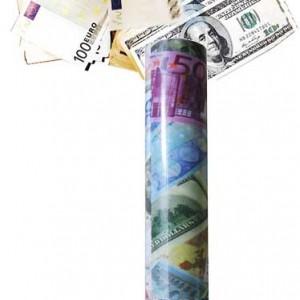 Dolar Euro Konfeti Bombası
