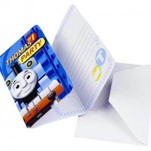 6 adet davetiye. Zarfı ile birlikte gelir.