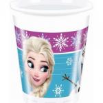 Frozen Northern Lights temasına ait plastik kullan at parti bardağı. Temanızı Frozen Karlar Ülkesi parti setinin diğer ürünleriyle tamamlamayı unutmayın.