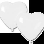 30cm kauçuk kalp balon