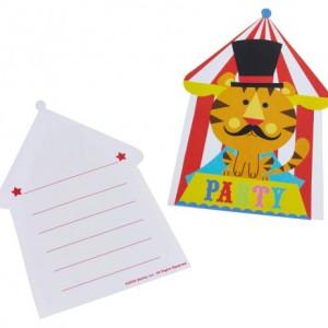 Parti davetleriniz için temanıza uygun baskılı parti davetiyesi. Üzerinde parti bilgilerini doldurmak üzere özel alanlar yer alır. Zarfı ile birlikte satılır.