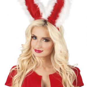Peluş ve kadife tavşan tacı. Bekarlığa veda