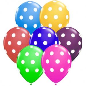 30cm çapında Helyum ile şişirilerek uçan balon yapmaya uygun