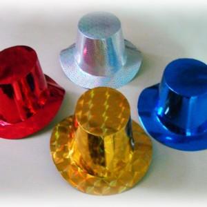 Hologramlı Karton Şapka. Yılbaşı partileri