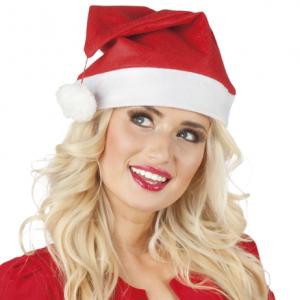 Standart ebatta ve elyaf malzemeden üretilmiş yetişkin boy Noel Baba şapkası. Yılbaşı partilerinde ideal kostüm aksesuarıdır.