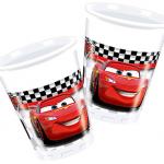 Cars temasına ait plastik kullan at parti bardağı. Temanızı Cars parti setinin diğer ürünleriyle tamamlamayı unutmayın. 120cc kapasitelidir.