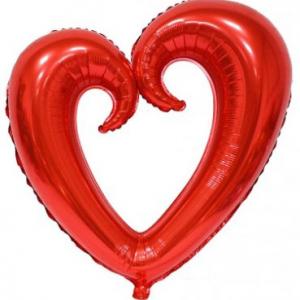 Supershape folyo balon. Şişirilmeden teslim edilir. Parti balonlarınızı uçan balon olarak Parti Paketi mağazalarında helyum gazı ile şişirtebilir; ya da balon çubuğu