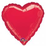Kırmızı Kalp Folyo Balon 45cm