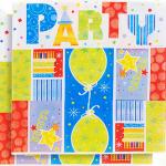 Kaliteli kullan at parti peçetesi. İyi ki doğdun doğum günü temalı diğer parti malzemeleriyle kombinleyebilirsiniz. Parti sofranız için şık ve pratiktir.